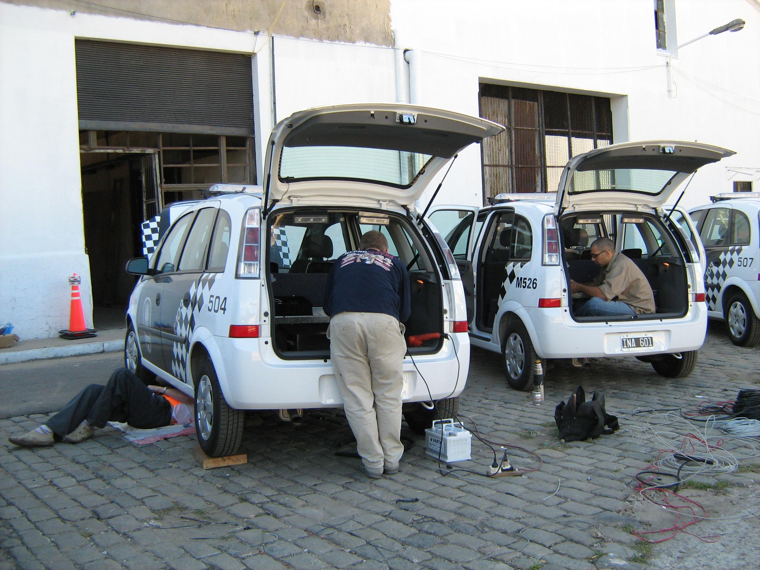 Circuito CCTV policía metropolitana